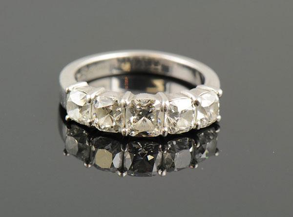 AZ 5-Stone Diamond Ring-0