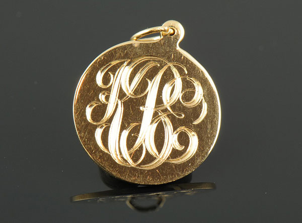 Engravable Monogram Charm-0