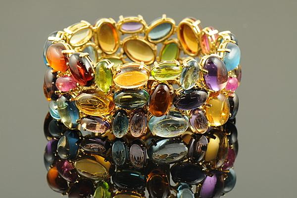 Diamond & Color Stone Bracelets