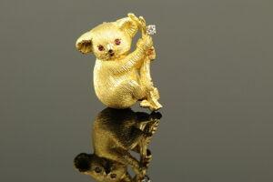 Vintage Koala Charm-0