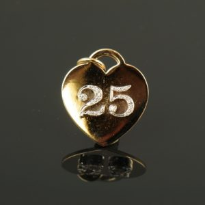25 Heart Charm-0