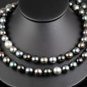 Pearl & Color Stone Necklaces
