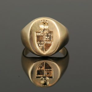 Personalized Signet Ring-0