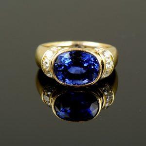 MS Sapphire & Diamond Ring-0